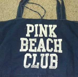 Large Victoria's Secret Beach Tote Bag